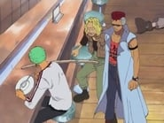One Piece Water 7 Arc Episode 233 : Pirate Abduction Incident! A Pirate Ship That Can Only Await Her End!