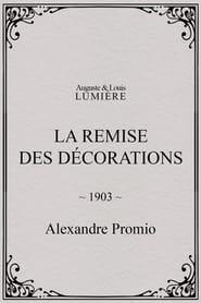 La remise des décorations 1903