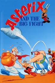 Poster Asterix and the Big Fight 1989