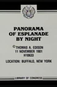 Panorama of Esplanade by Night 1901
