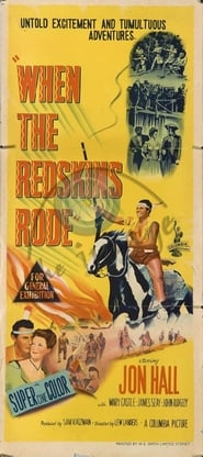 Affiche de Film When the Redskins Rode