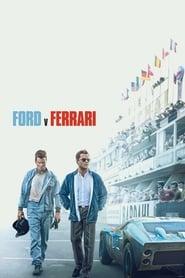 Poster Ford v Ferrari 2019