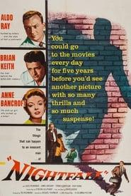 Poster Nightfall 1956