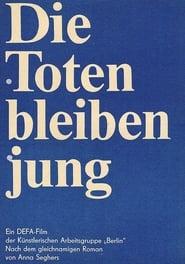 Poster Die Toten bleiben jung 1968