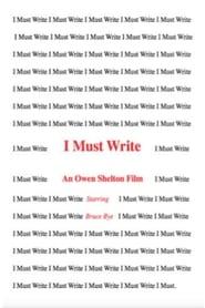 I Must Write