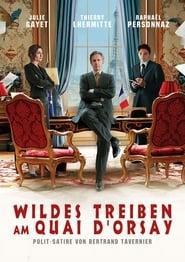 Wildes Treiben am Quai d'Orsay