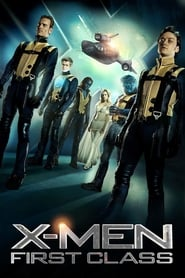 Poster for the movie, 'X-Men: First Class'
