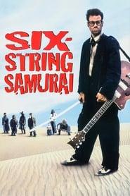 Poster Six-String Samurai 1998