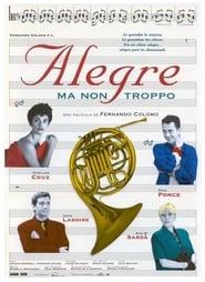 Poster Alegre ma non troppo 1994