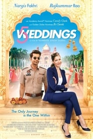 5 Weddings 2018 Movie AMZN WebRip Dual Audio Hindi Cam + Eng 300mb 480p 900mb 720p 3GB 5GB 1080p