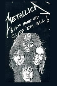 Poster Metallica: Cliff 'Em All 1987