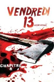 Poster Vendredi 13, chapitre 8 : L'Ultime Retour 1989