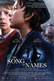 Poster The Song of Names 2019