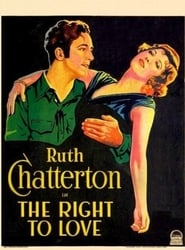 The Right to Love 1930