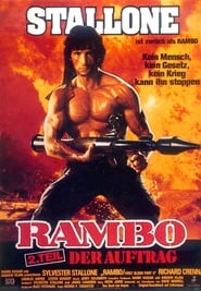 Rambo: First Blood movie poster
