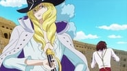 One Piece Dress Rosa Arc (2) Episode 718 : Moving Across the Ground! The Giant Statue Pica's Surprise Maneuver!