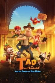 Poster Tad, the Lost Explorer, and the Secret of King Midas