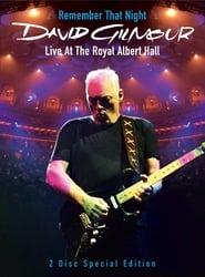 David Gilmour:  Live At The Royal Albert Hall