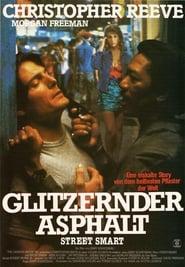 Glitzernder Asphalt