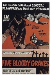 Poster Five Bloody Graves 1969