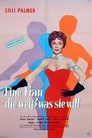 Eine Frau, die weiß was sie will 1958
