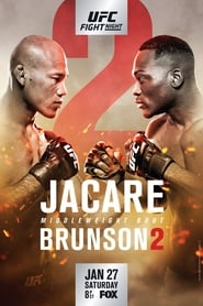 Regarder UFC on Fox 27: Jacaré vs. Brunson 2