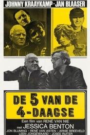 De Vijf van de Vierdaagse 1974