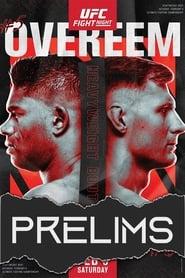UFC Fight Night 184: Overeem vs. Volkov - Prelims 2021