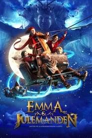 Poster Emma og Julemanden - Jagten på Elverdronningens hjerte 2015