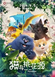 Cats and Peachtopia (2018) Sub Indo