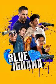 Poster Blue Iguana