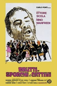 Poster Ugly, Dirty and Bad 1976