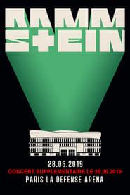 Rammstein en concert à Paris La Défense Arena