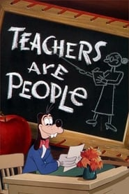 Poster Teachers are People 1952