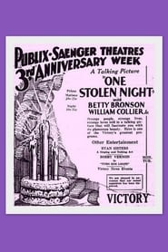 One Stolen Night 1929