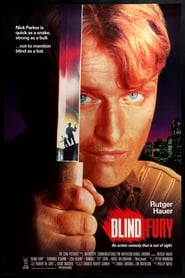 Poster Blind Fury 1989