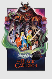 Poster The Black Cauldron 1985