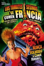 Poster Killer Tomatoes Eat France! 1992