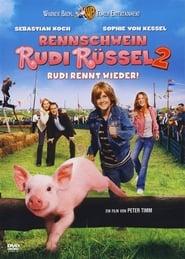 Rudy, un cerdito en las carreras