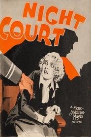 Poster Night Court 1932
