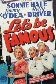 Poster Let's Be Famous 1939