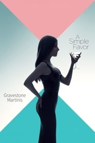 Poster A Simple Favor: Gravestone Martinis 2018