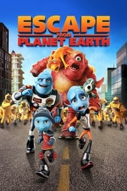 Poster Escape from Planet Earth 2012