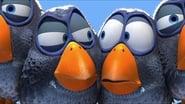 Drôles d'oiseaux sur une ligne à haute tension images