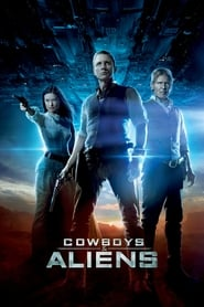 Poster for the movie, 'Cowboys & Aliens'