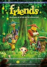 Ver Friends: Aventura en la isla de los monstruos Online HD Castellano, Latino y V.O.S.E (2011)