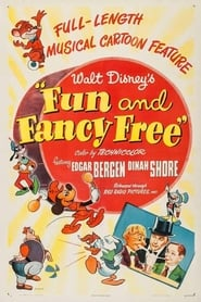 Poster Fun and Fancy Free 1947