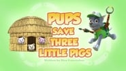 Pups Save Three Little Pigs