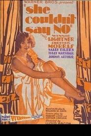 She Couldn't Say No 1930