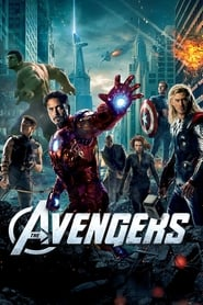 Poster for the movie, 'Avengers Assemble'